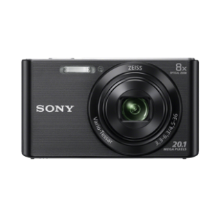 CAMARA FOTOS SONY KIT DSCW830BB NEGRA 20.1mp 27.1m