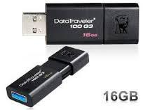 PENDRIVE 16GB KINGSTON DT100G3/16GB DATATRAVELER