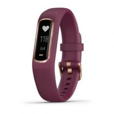 PULSERA FITNESS GARMIN VIVOSMART 4 GRANATE/ROSE GOLD (S/M)