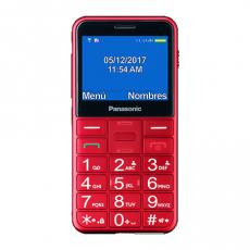"MOVIL PANASONIC KX-TU150EXR 2.4"" BLUETOOTH USO FACIL. TECLAS GRANDES ROJO"