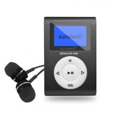 MP3 4GB SUNSTECH DEDALOIII NEGRO