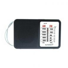 RADIO PORTATIL SUNSTECH RPS411BK ALTAVOZ NEGRA