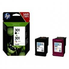 CARTUCHO TINTA HP 301 COMBO 2-PACK NEGRO-TRICOLOR